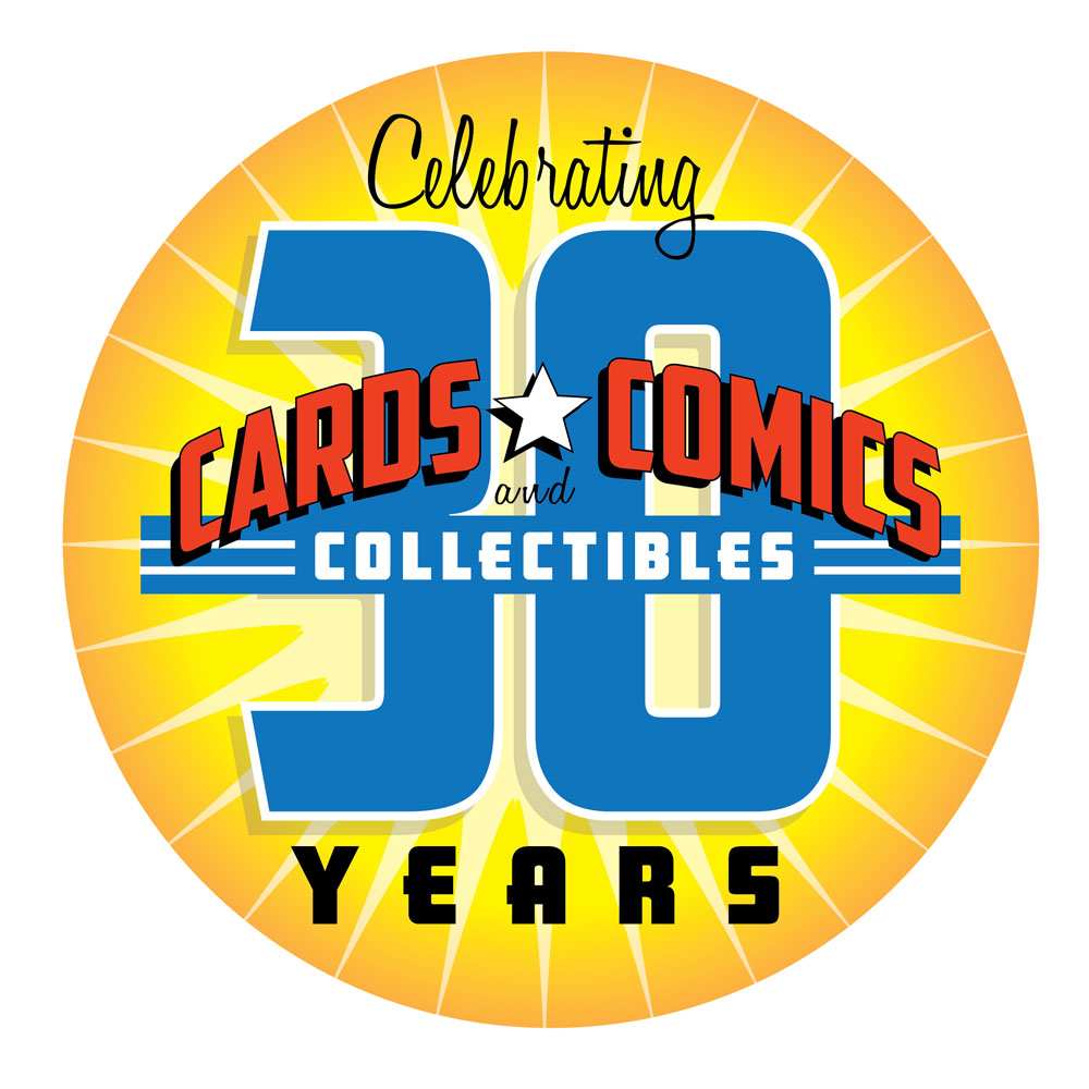 Cards, Comics & Collectibles 30th Anniversary