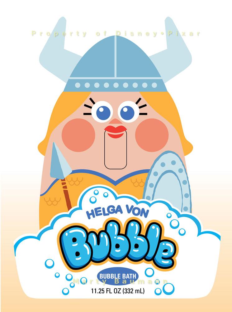 Pixar - Helga Von Bubble