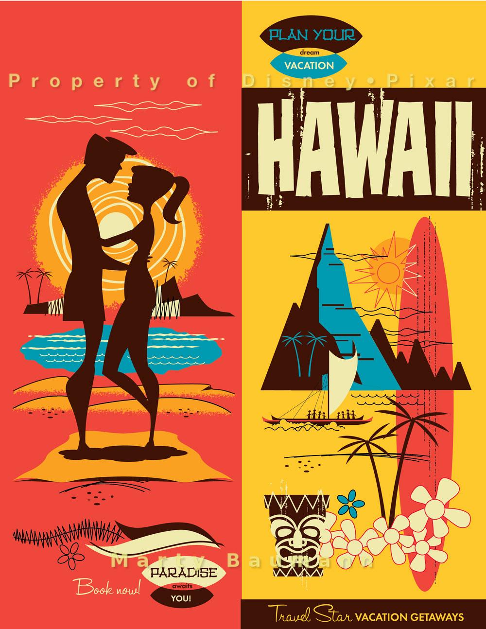 Pixar - Hawaii Vacation