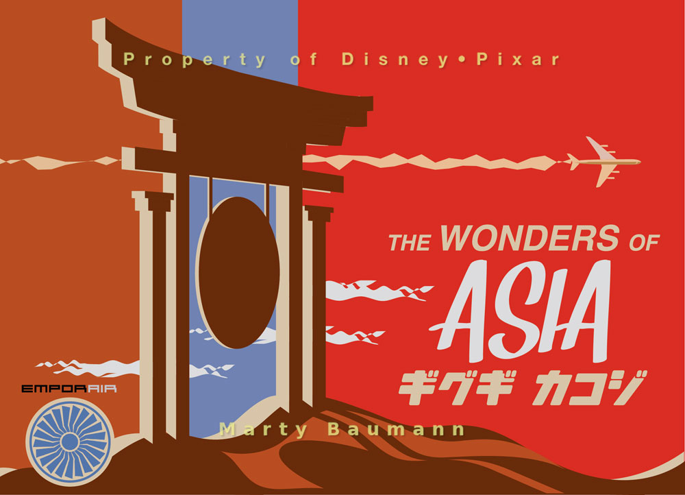 Pixar - The Wonders of Asia