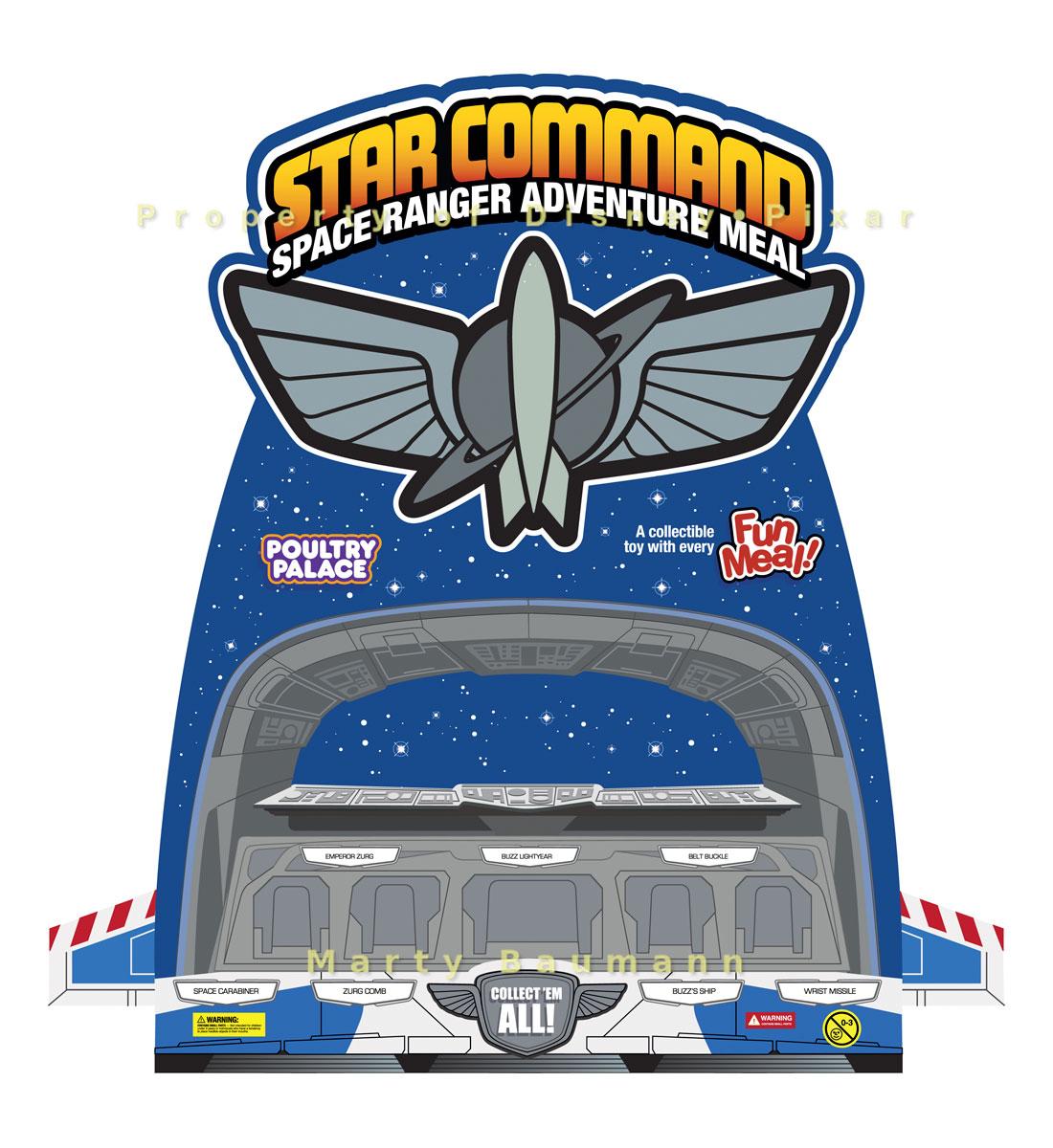 Pixar - Star Command Space Ranger Adventure Meal