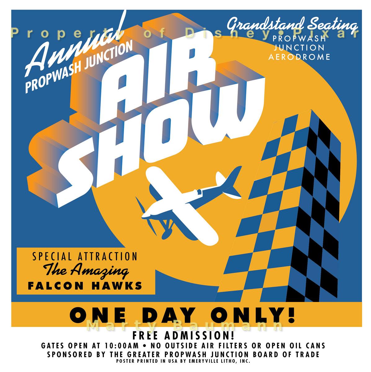 Pixar - Propwash Junction Air Show