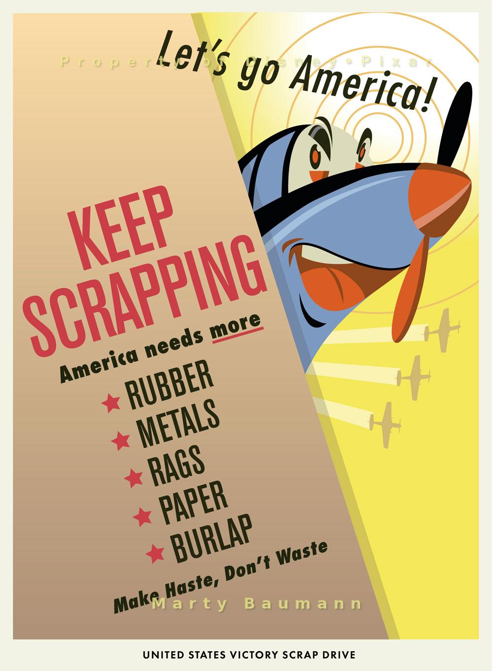 Pixar - Keep Scrapping