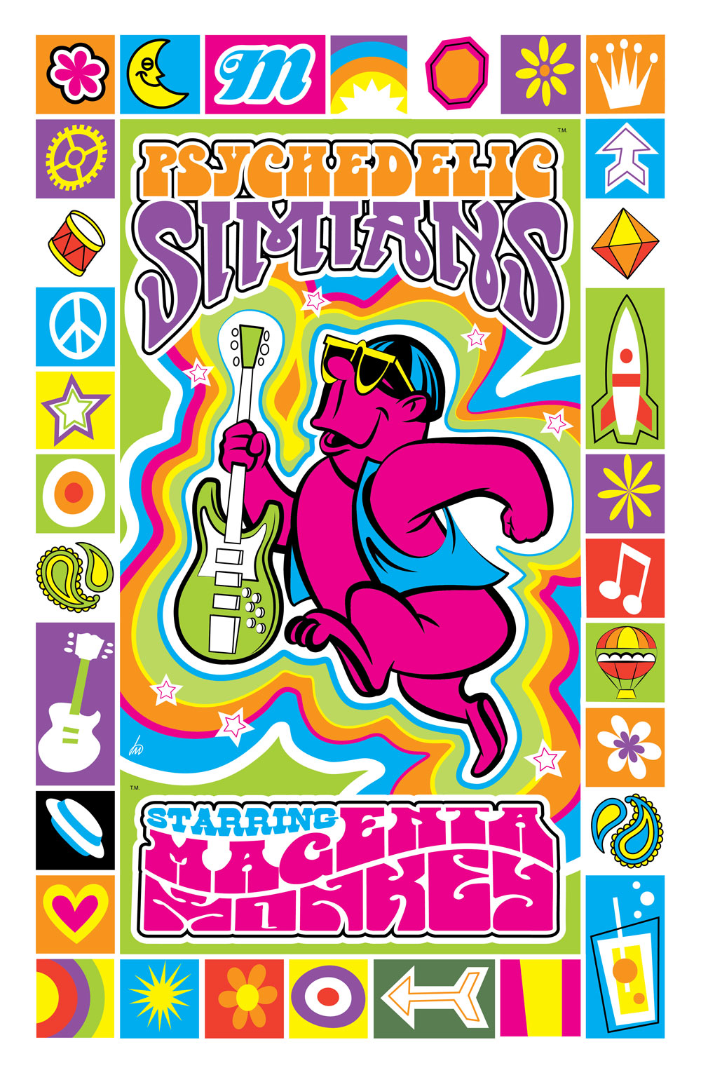 Psychedelic Simians